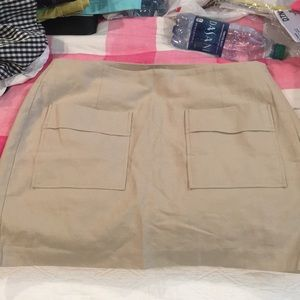 Gap linen skirt